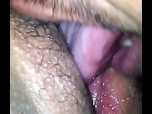Licking my exwife tight-fisted cookie make advances to this babe cum