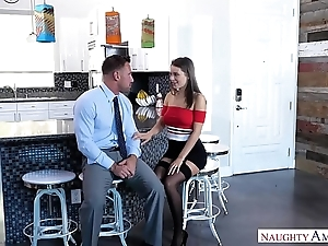 Cheating wife lana rhoades copulates husbands comrade-in-arms