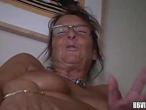 German of age maid masturbating