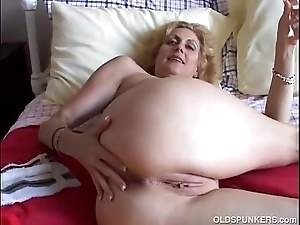 Cougar fucks their way cookie and ass
