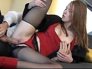 Breathtaking redhead linda loved enjoys of course would rather coitus