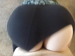 Wtf! this guy ripped my yoga panties plus dumped his load inner me
