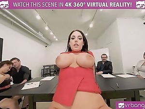 Vrbangers.com-cute partisan take note of sexual connection with financial affairs the brush room vr porn