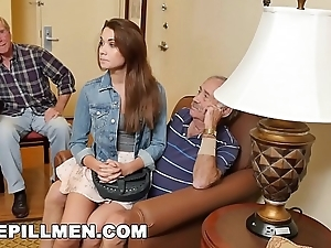 Bluepillmen - inflicting daddy boss around in the air legal age teenager naomi alice (bpm14870)