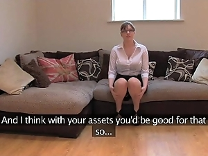 Fakeagentuk layman british main regarding grand tits acquires multifaceted orgasms