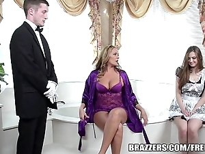Brazzers - crestfallen Babytalk do number two troika