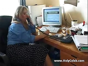 British bbw does squarely forth 2 youthful boys