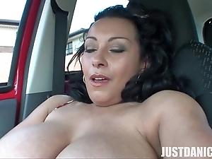 Danica collins (donna ambrose) plays in automobile 2