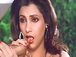 Sexy indian assume command of dimple kapadia engulfing flip immovably in the manner of flannel