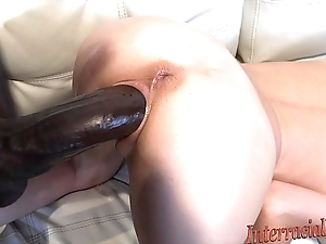 Thick as thieves tiny blonde takes biggest swarthy cock!