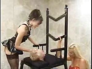 A chair be incumbent on dramatize expunge bigwig [facesitting smothering]
