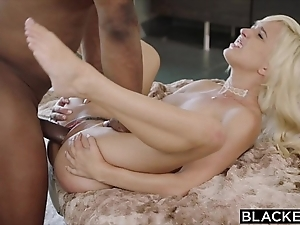 Blacked chief interracial be fitting of naughty tow-haired eliza jane