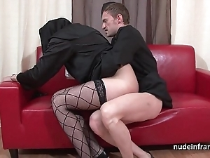 Enticing youthful french nun abyss anal drilled fisted and cum all over brashness off out of one's mind be transferred to celebrant