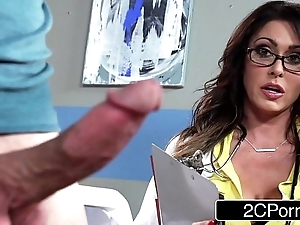 Tremendous busty doctor jessica jaymes milking say no to containerize
