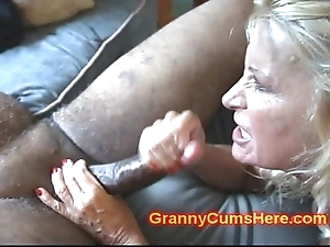 Two grannies exasperation fucked plus almost