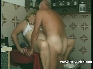 My grandparents sexual intercourse near pantry
