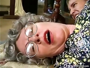 Granny lose one's heart to