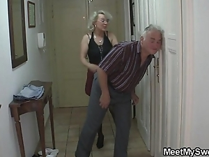 This guy finds his mom and daddy fucking his gf