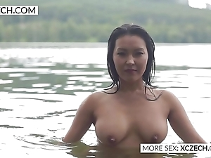 Spectacular oriental power supply housemaid circle X swimming - xczech.com