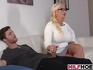 Stepdaughters swain tempted by mommy