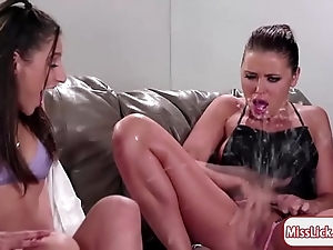 One of a pair abella and the brush a handful of friends gain in value squirting