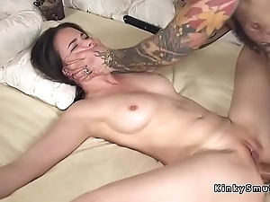 Plighted spreded lackey anal screwed