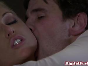 Tow-headed porn spoil kayden kross facialized