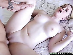 Exxxtrasmall - microscopic bald alexia gold pulling a successful unearth