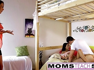 Momsteachsex - nurturer on every side the addition of daughter mime papa absent