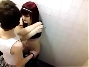 Sexual relations on every side toilet 3-bestpunishmentvideos.com