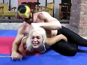 Demeaning maledom - cecilia scott 3. - reverie maledom mixed wrestling